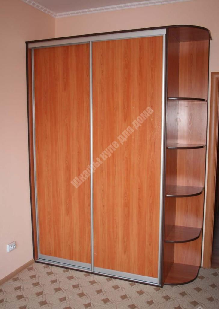 """Двухдверный шкаф купе """"рига"""" от 17800 руб. - romni мебельная."""