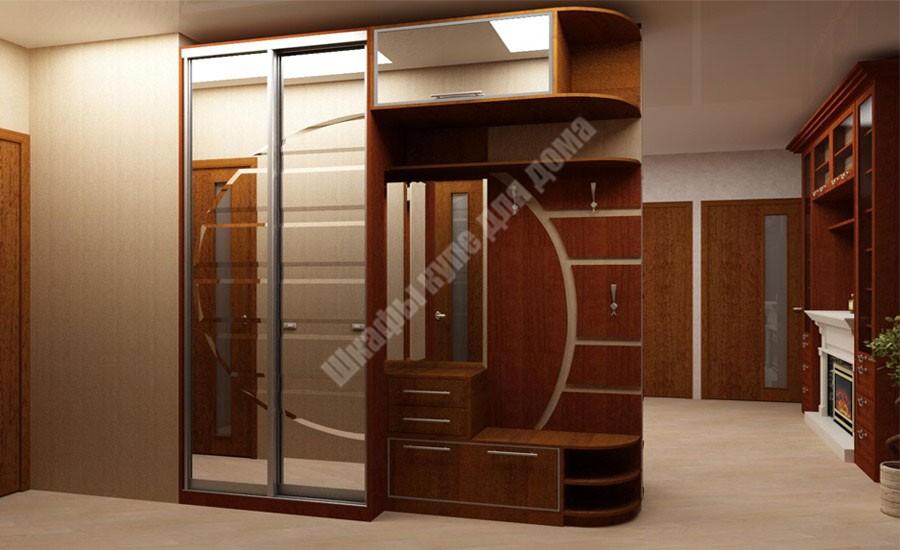 Дизайн прихожей шкаф купе